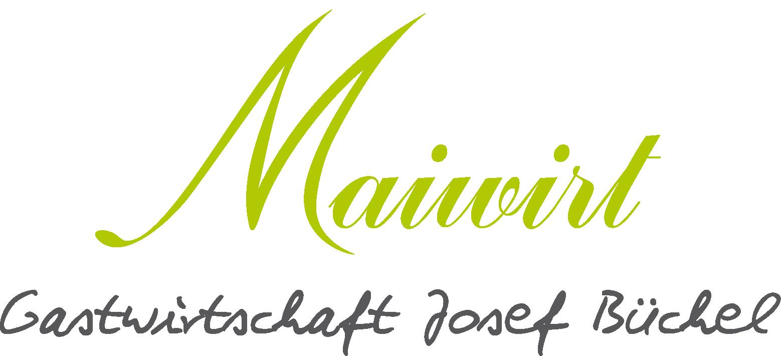 Maiwirt – Gastwirtschaft Büchel Logo
